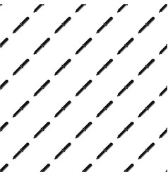 chemical pipette pattern seamless vector image