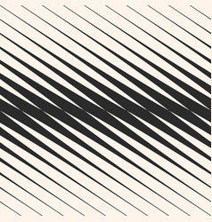 Diagonal halftone stripes seamless pattern vector