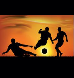 football game vector image