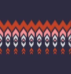 Geometric ethnic oriental seamless pattern vector