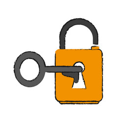 Key lock open vector