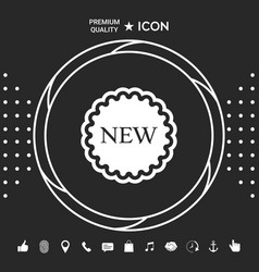 New offer icon graphic elements for your designt vector