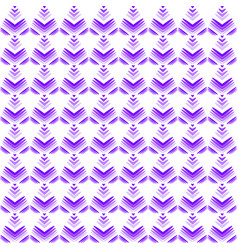 pastel pattern of violet hearts and flowers on a vector image