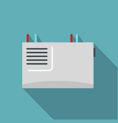 Wall router icon flat style vector