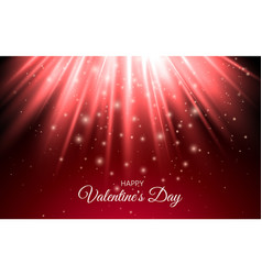 abstract shine sparkles light red holiday abstract vector image vector image