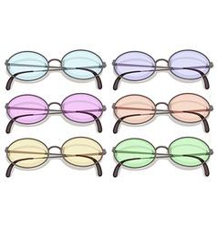 Eyeglasses vector image