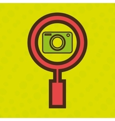 symbol camera photograph images vector image vector image