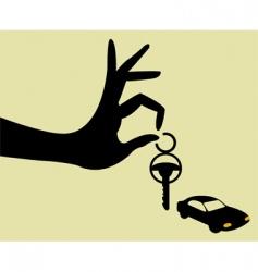 take the keys vector image