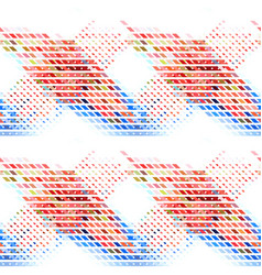 Colorful abstract geometric seamless background vector