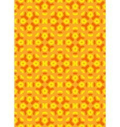 geometric abstract colorful mosaic yellow orange vector image