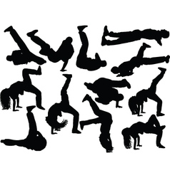 Breakdance collection 2 vector