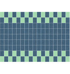 flat of glazed tiles with noise and texture vector image