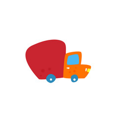 free shipping delivery concept vector image