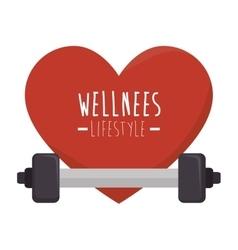 Healthy heart cardio icon vector