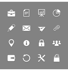 Icon set for Web and Mobile vector image