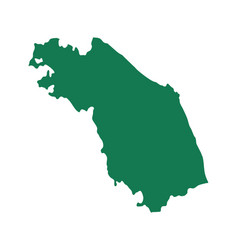 map marche vector image