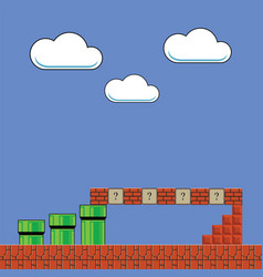 Super Mario Retro Vector Images 41