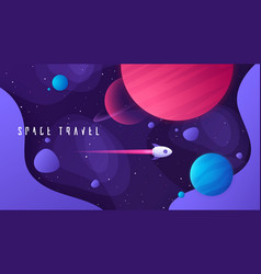 On topic outer space vector