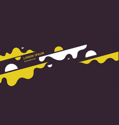 Poster with dynamic waves minimal vector