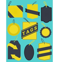 Tags Collection vector image