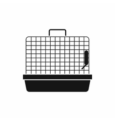 Cage for birds icon simple style vector image