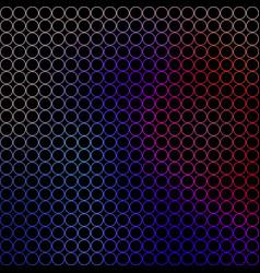 abstract - small colored circles vector image vector image
