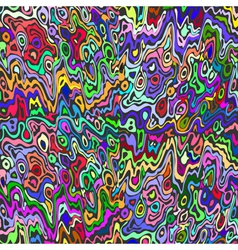 Colorful abstract paint background vector image vector image