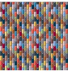 Geometric multicolored seamless vector image