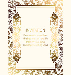 abstract background with calligraphic flourishes vector image