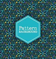 Decorative pattern background 3110 vector