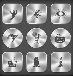 ghost witch eye astrologers hat ethnic little man vector image