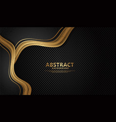 Luxury and elegant wave abstract overlap layer vector