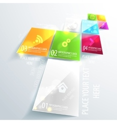 Modern business infographic design Use for vector image