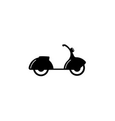 moped icon element of popular car icon premium vector image