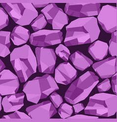Stone background violet vector