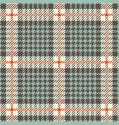 tweed houndstooth tartan seamless pattern vector image