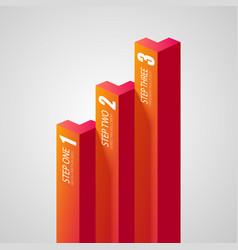 Web business infographics vector