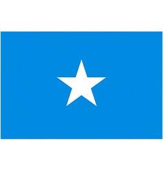 somalian flag vector image vector image