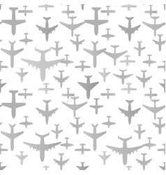 airplane seamless background aircraft vector image