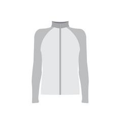 Grey sportswear mockup vector