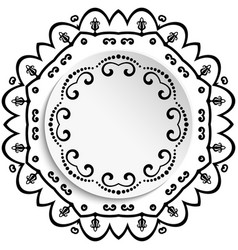 nice greeting card vector image