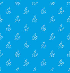 Spica pattern seamless blue vector