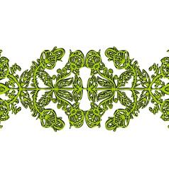 Symmetrical openwork vector
