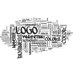What does your logo color say about your business vector
