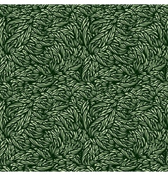leaves texture vector image vector image
