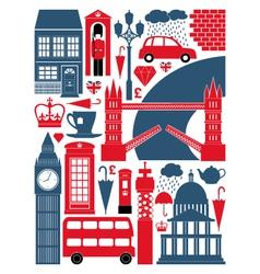 London symbols set vector