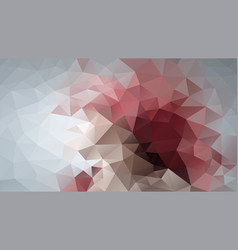 Abstract irregular polygon background pink grey vector