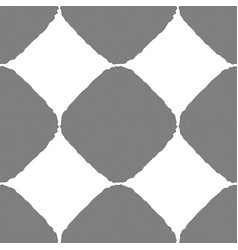 Design seamless monochrome diamond background vector