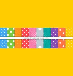 dot colorful background dots abstract background vector image