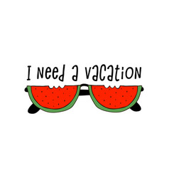 I need a vacation poster vector